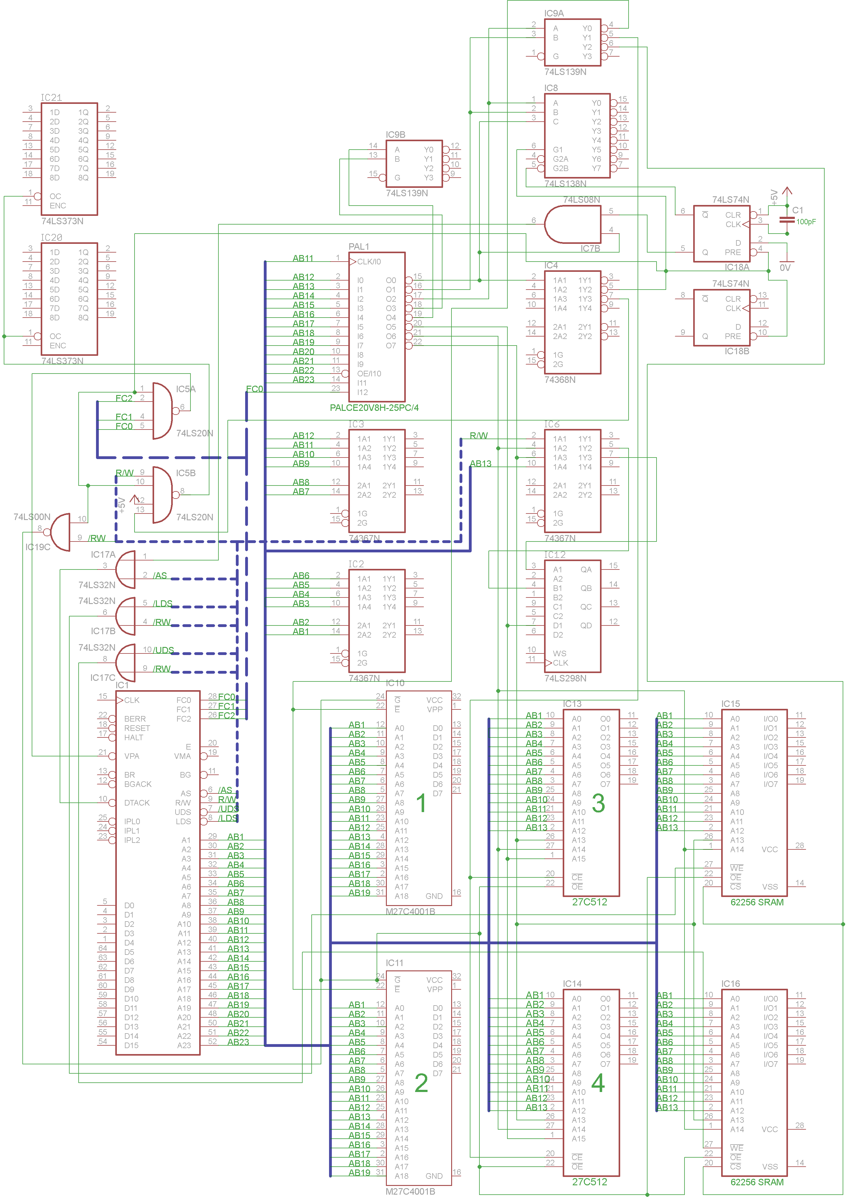 Arcade Schematics Trail King Wiring Diagram Varth Bootleg Partial Schematic Made By Caius Download