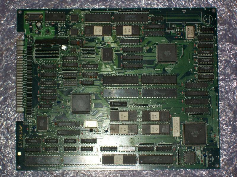 Raiden DX_PCB