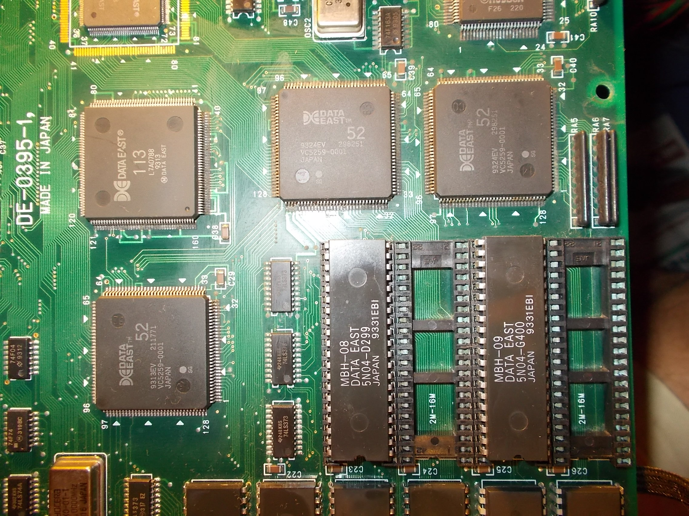Pcb Repair Logs Page 44 High Quality Circuit Board Scrap Buy Scrappcb Obviously Due This Once Powered Up The There Were Several Problems Mainly Sprites Related
